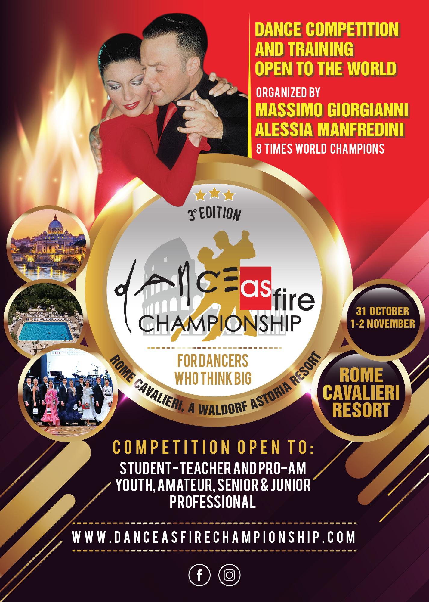 Dance As Fire Championship